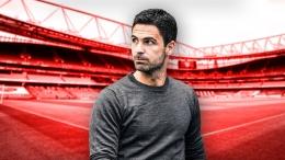 Manajer Arsenal, Mikel Arteta sudah siap membawa tim asuhannya membawa poin dari tuan rumah Brentford (Foto Skysports)
