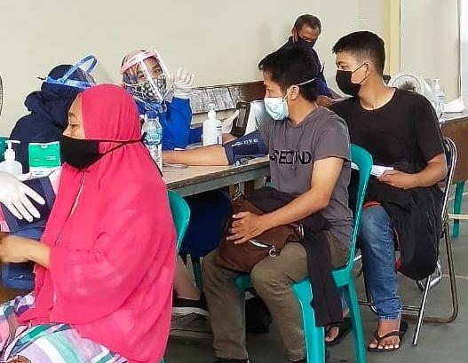 Antusias masyarakat Jakarta untuk ikut vaksinasi/Dok.Pribadi