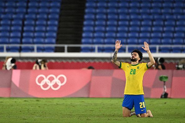 Claudinho, bintang muda Brazil yang punya klub baru saat ini. (via Getty Images)