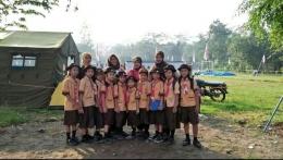 Foto bersama anak-anak ketika kegiatan Pesta Siaga [Foto: Siti Nazarotin]