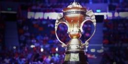 Trofi Piala Sudirman menjadi target besar yang coba dikejar tim bulutangkis Indonesia di tahun 2021 ini/Foto: Kompas.com