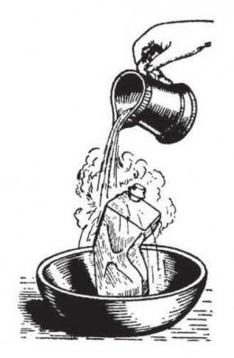 Apa yang terjadi pada kaleng ketika tiba-tiba didinginkan. Sumber: buku Physics for Entertainment, Book 2, hlm. 149.