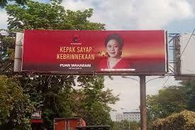 baliho politis Puan Maharani, sumber kompas.com