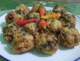 Gambar 6, Bolahu Isi Daging yummy [Foto: Siti Nazarotin]