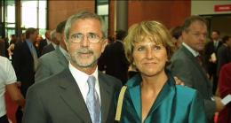 Gerd Muller dan istrinya Uschi: Dailymail.co.uk