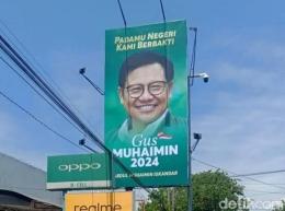baliho politis Muhaimin Iskandar, sumber gambar detik.com