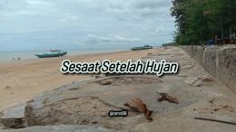 Puisi Sesaat Setelah Hujan/ Dokpri @ams99 By Text On Photo