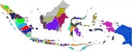 Peta Indonesia Animasi dok. peta-hd.com