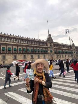 Di jalan utama Mexico City/dok pribadi
