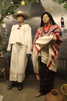 patung penduduk Meksiko zaman dulu/dok pribadi