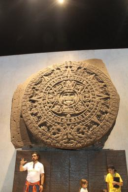Kalender Aztec yang pernah meramalkan tahun 2012 akan kiamat/dok pribadi