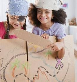 Anak yang Memiliki Misa Mencari Harta Karun Tersembunyi. Sumber Situs Parenting