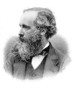 James Clerk Maxwell. Sumber: https://en.wikipedia.org/wiki/James_Clerk_Maxwell#/media/File:James_Clerk_Maxwell.png