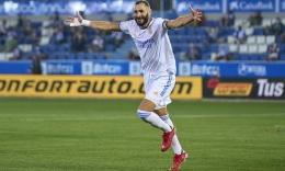 Karim Benzema. (via Getty Images)