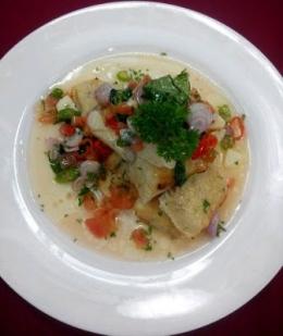 Ikan dan sambal dabu-dabu (dokpri)