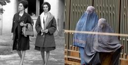 Wanita Afghanistan dulu dan sekarang (dw.com)