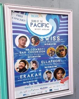 Promosi poster Sound of The Pacific, dok. pribadi
