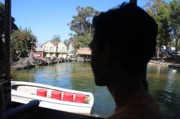 Saya bersama Dimas di atas kereta wisata /dok pribadi
