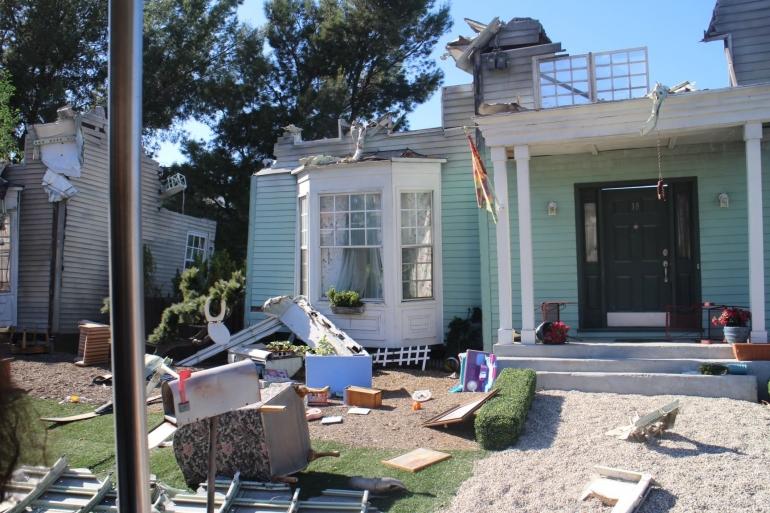 Setting rumah lokasi gempa /dok pribadi