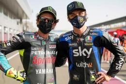 Valentino Rossi contoh atlet yang mampu mengelola kekayaannya dari masa-masa kejayaannya di MotoGP. Sumber: Dok. Luca_Marini_97/via Kompas.com