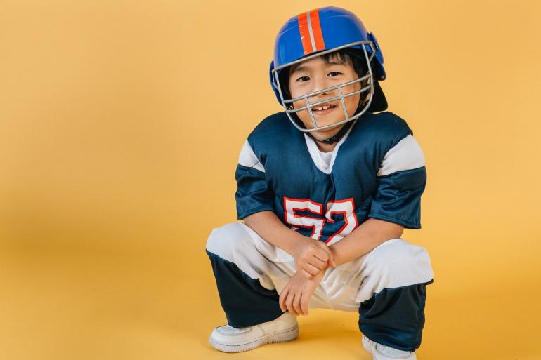 Ilustrasi anak dan cita-cita menjadi atlet. Sumber: Pexels/Amina Filkins