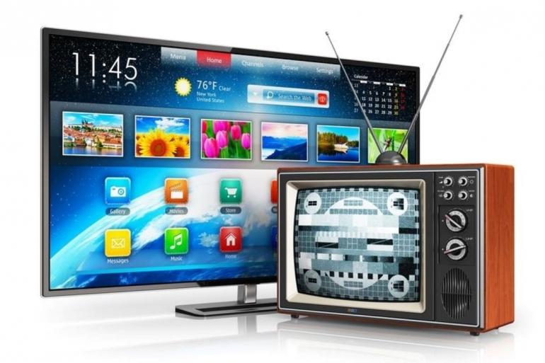 Ilustari tv analog dan tv digital (Shutterstock)