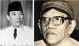 Bung Karno dan Ki Nartosabdo (Sumber: kompaspedia.kompas.id dan p2k.um-surabaya.ac.id