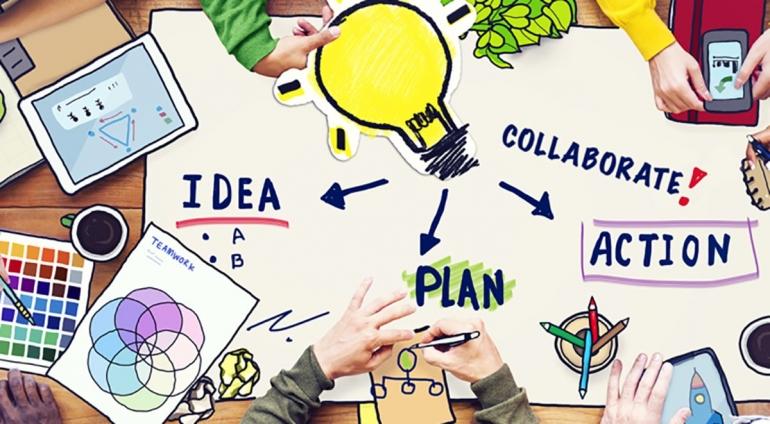 Creative Team Illustration | corpohub.com