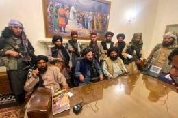 Taliban. Sumber: Kompas.com