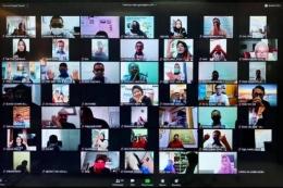 Kegiatab Meeting Secara Online. Sumber Antara News Megapolitan