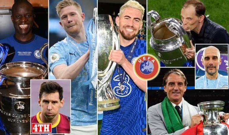 Para kandidat pemain dan pelatih terbaik di Eropa: Dailymail.co.uk