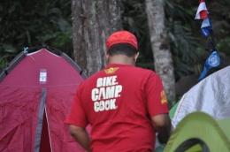 Bike Camp Cook, Foto : Benben Zaenudin TCC