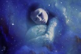 Matamu adalah cermin Tuhan yang padanya Dia melihat alam semesta | Ilustrasi oleh Enrique Meseguer via Pixabaya