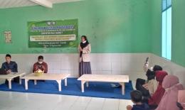 Gambar 3 : Sosialisasi pengolahan kulit singkong Manihot esculenta (Dok. Pribadi)