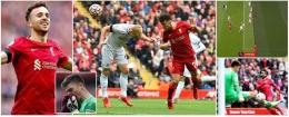 (Momen babak pertama laga Liverpool vs Burnley / sumber foto dilansir dari Dailymail.co.uk)