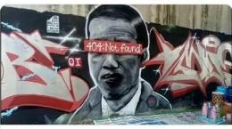 mural kritikan terhadap penguasa (CNNIndonesia)