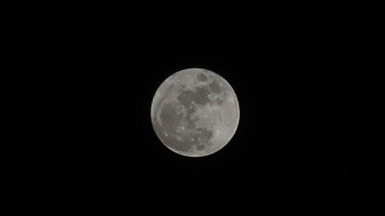 Blue Moon Bulan Purnama 22 Agustus 2021 (Dokumentasi pribadi)