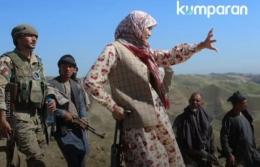 Salima Mazari, gubernur perempuan di Afghanistan (dok.kumparannews.com)