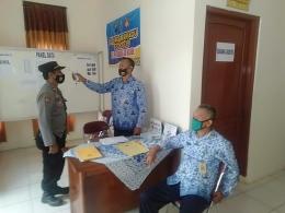 Pak Mohtar saat bertugas/ Sumber : Dok.Pri