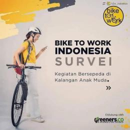 dok. e-poster survey Bike to Work Indonesia