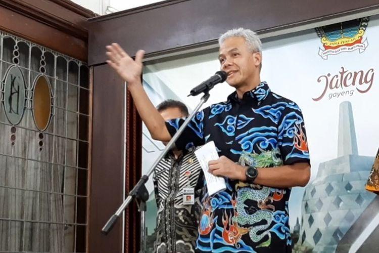 Ganjar Pranowo. foto: KOMPAS.com/RISKA FARASONALIA