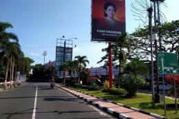 Baliho politisi   (Sumber: KOMPAS.COM/ASIP HASANI)