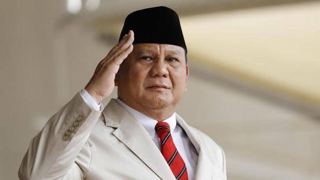Menhan Prabowo Subianto, Ilustrasi : cnnindonesia.com