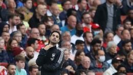Apakah rentetan kekalahan Arsenal dalam dua laga awal musim ini murni karena Arteta? Sumber: Reuters