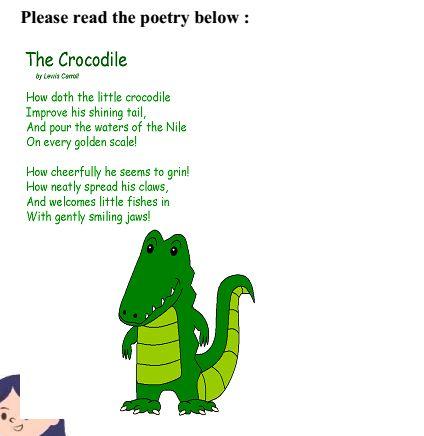 Salah satu puisi karya penulis puisi terkenal yang terdapat di dalam 'Poetry workbook' yang disusun tim PKM kami/dokpri