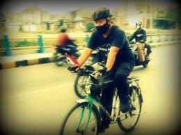 Bersepeda sendiri dan untuk transportasi (Foto dok. Cuham)