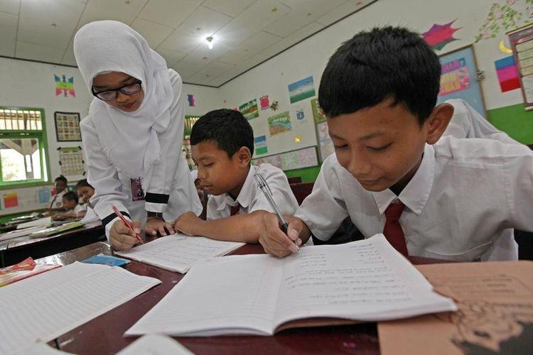 Ilustrasi pendidikan di Indonesia | Sumber: Sinar Mas via kompas.com