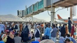 Bandara Hamid Karzai, Kabul (foto AFP)