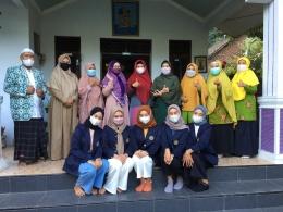 Foto tim PPMT bersama dengan mitra : PCA Kecamatan Kranggan dan ABA Ar-Rahmah kranggan (Dokpri)