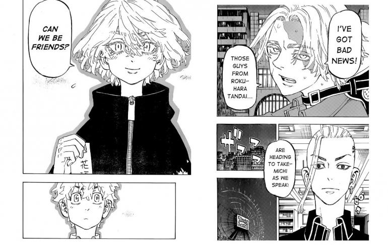 Sumber Gambar: Dok. Kodansha USA, Tokyo Revengers Chapter 219